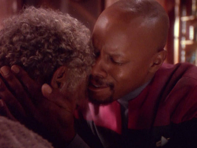 Deep Space Nine The Visitor Review