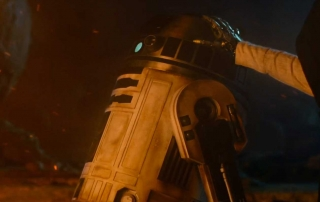 Luke and R2 The Force Awakens