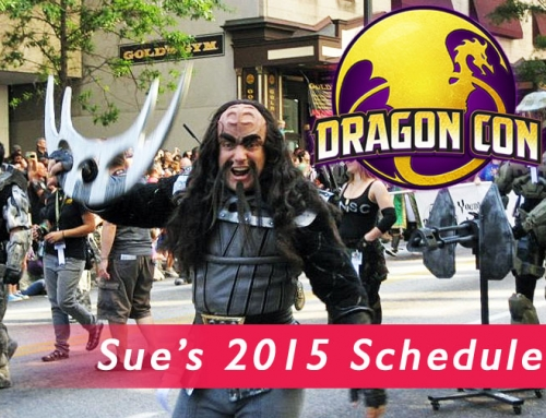 Sue's Dragon Con 2015 Schedule
