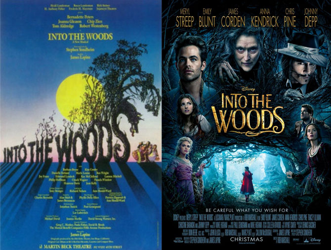Anomaly Supplemental   Into the Woods – Stage v. Screen