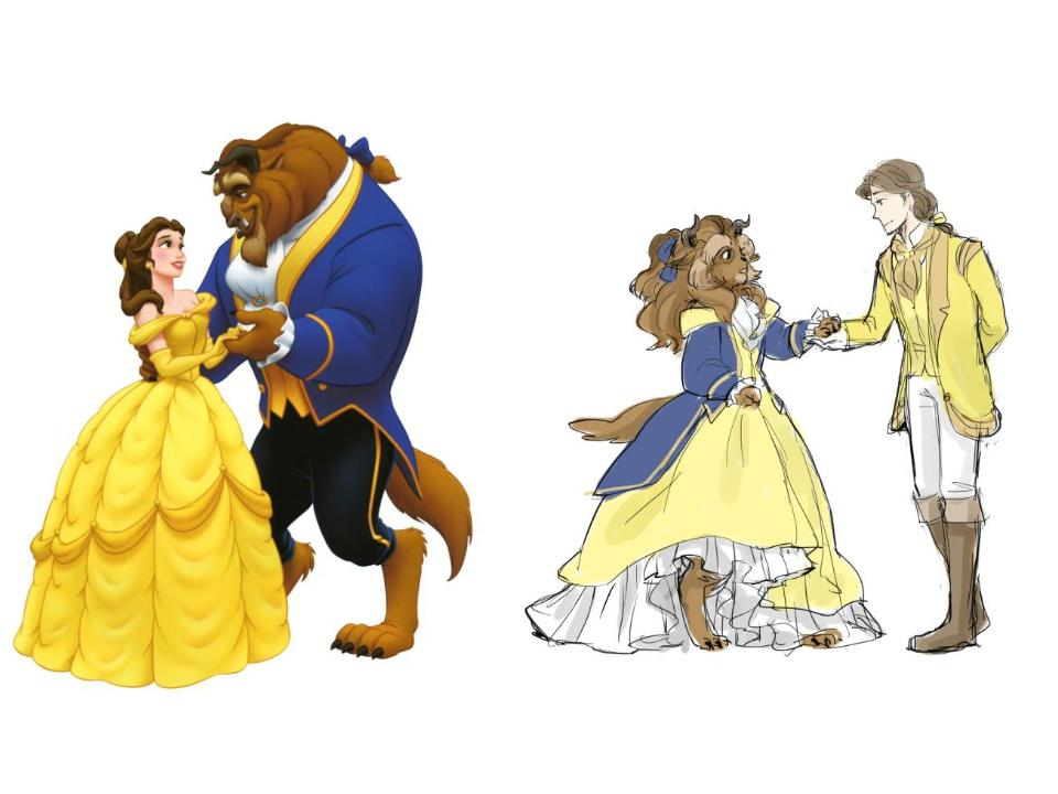 "Dissecting the ""Beauty and the Beast"" Trope: Gender Roles in a Tale as Old as Time"