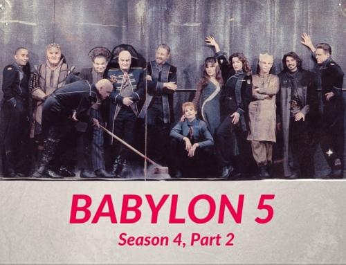 Anomaly Supplemental   Babylon 5, Season 4, Part 2