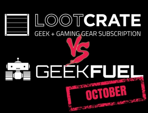 Lootcrate vs Geek Fuel: Round 2 – October