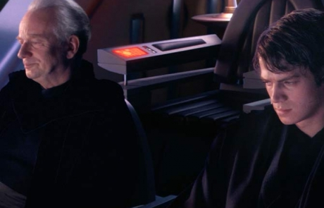 Revenge of the Sith Palpitine and Anakin