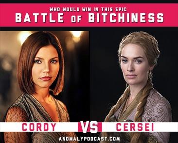 Cordy Vs Cersei