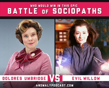Dolores Umbridge Vs Evil Willow