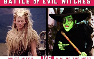 White Witch Vs The Wicked Witch of the West