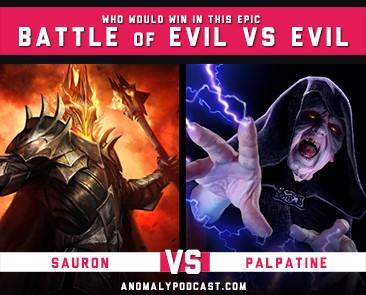 Sauron Vs Palpatine