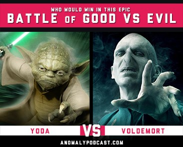 Yoda Vs Voldemort