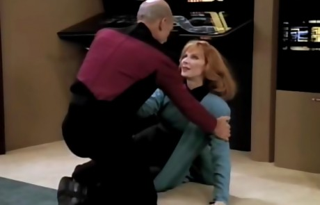 Picard and Crusher