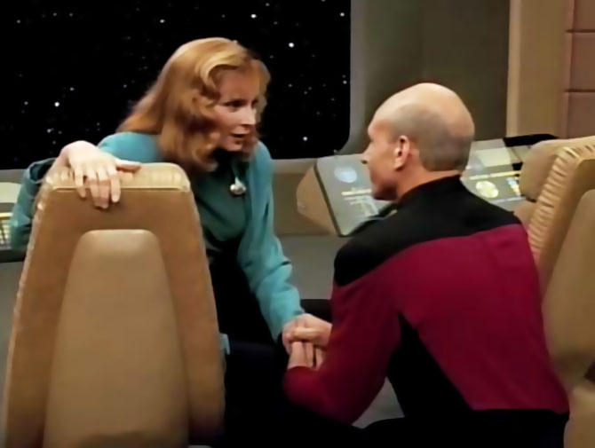 Remember Me Crusher and Picard