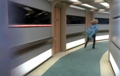 Running in the ship's corridors