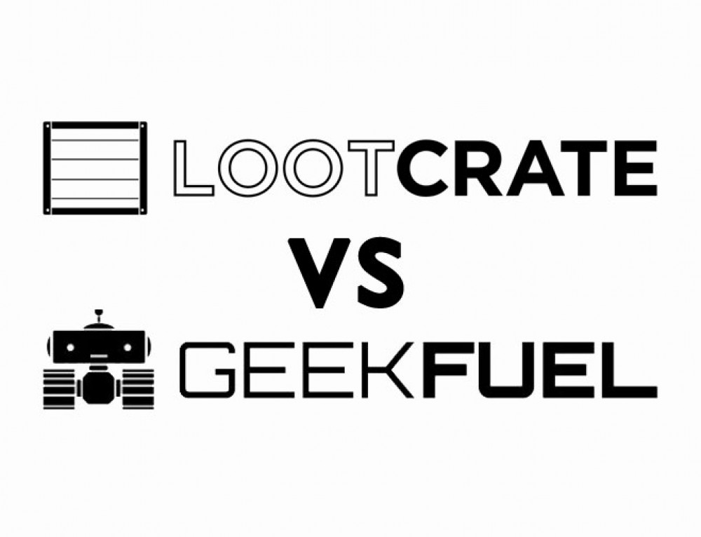 Battle of the Nerd Boxes Geek Fuel & Lootcrate: April 2017