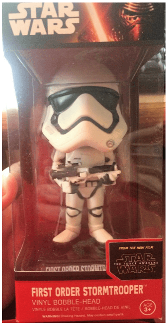 Geek Fuel Star Wars The Force Awakens Bobblehead