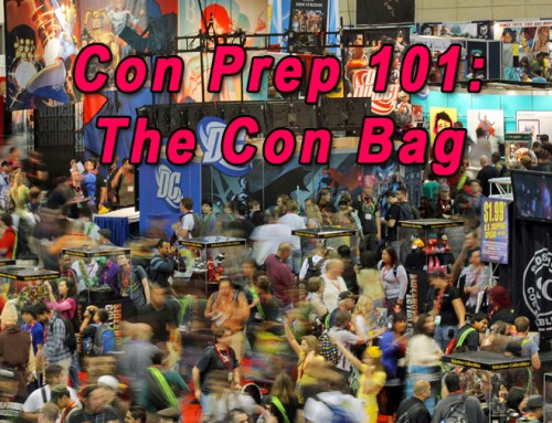 Convention Prep 101 | The Con Bag