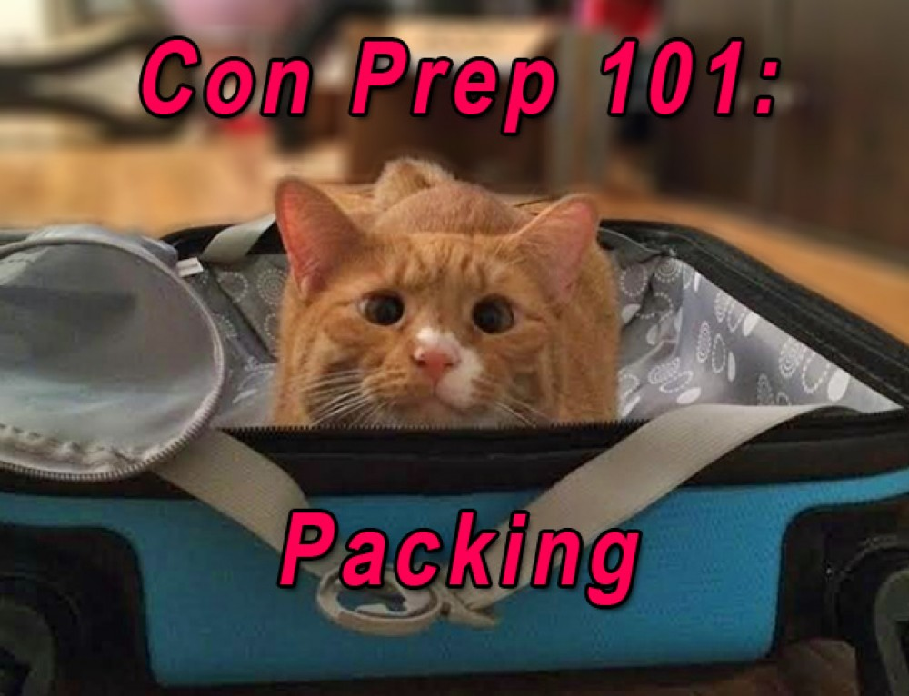 Convention Prep 101 | Packing for Con