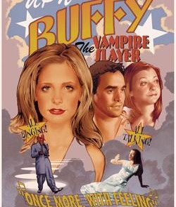 Buffy Musical Movie Art