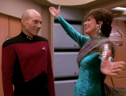 Star Trek's Lwaxana Troi & Celebrating Moms