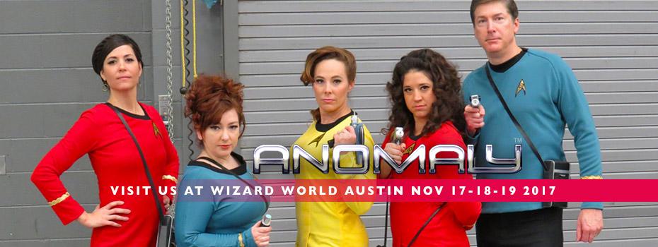 Wizard World Austin 2017 Anomaly Podcast