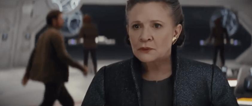 Leia has Force Powers