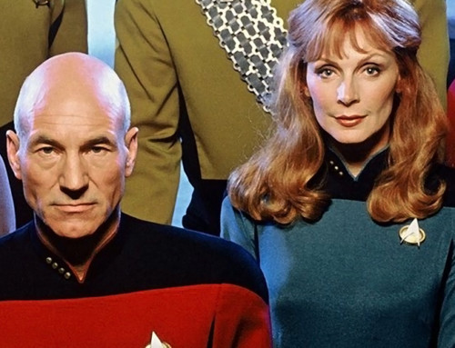 TNG Novels: Do Picard and Crusher Ever Get Together?  PART 1