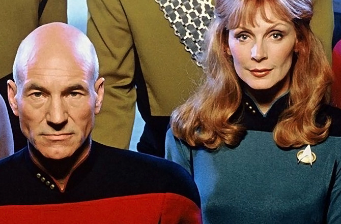 do picard and crusher ever get together