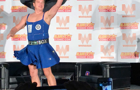 John Barrowman Tardis Dress