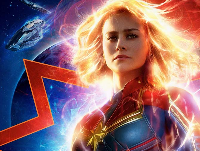 Captain Marvel Podcast Review